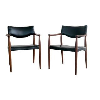 Bender Madsen Mid-Century Teak Chairs - A Pair