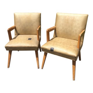 1940s Hotel Lobby Chairs - A Pair