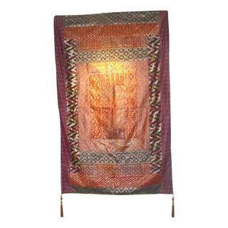 Vintage Sari Tapestry