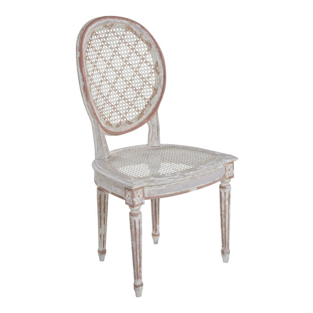 Image of French Caned Chair