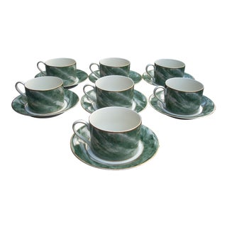Mikasa Coffee Mugs & Saucers - Set of 7