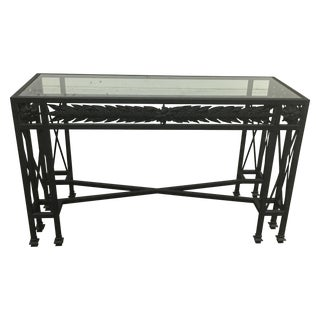 Murray's Iron Works Garland Console Table
