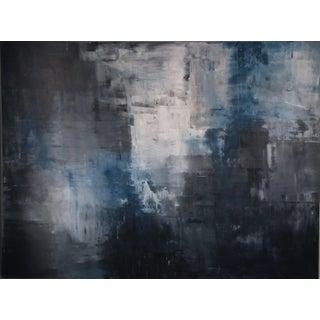 """Ridges"" Original Abstract Art by Kris Gould"
