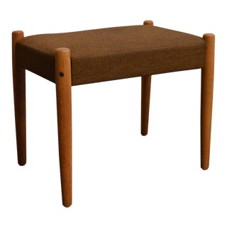 Danish Mid-Century Modern Bench or Footstool