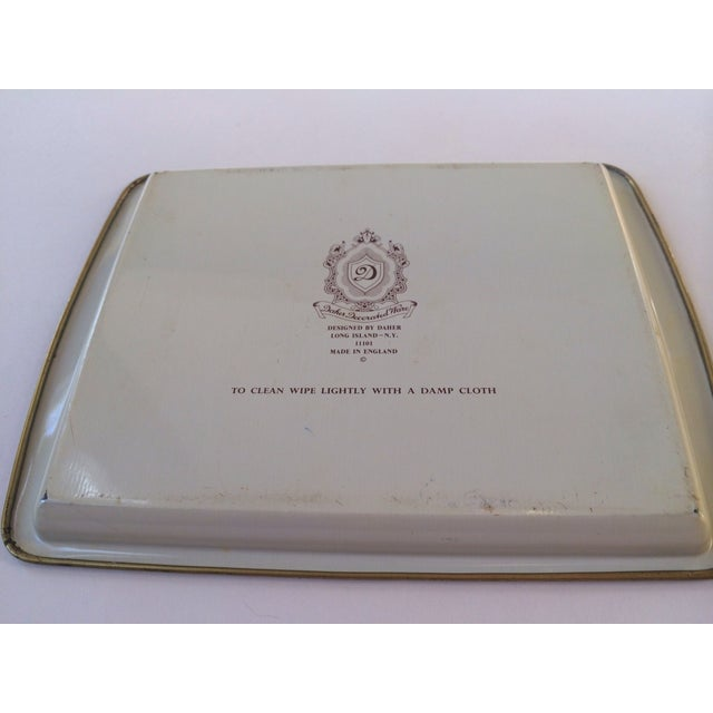 Dasher Decorated Ware Floral Tray - Image 6 of 8