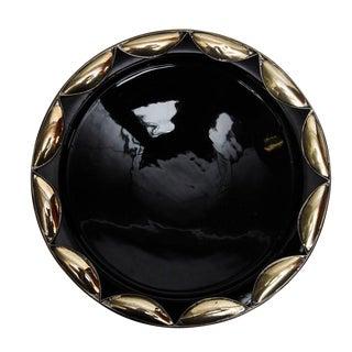 Black Nour Ceramic Plate