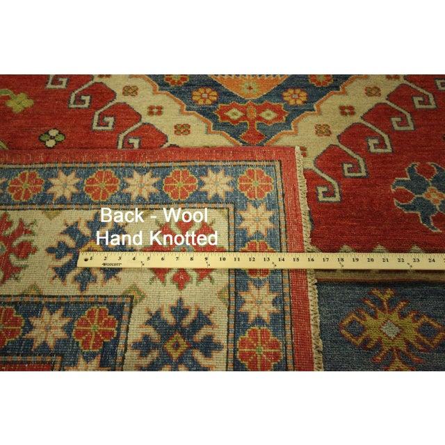 Super Kazak Area Rug Red - 9' x 12' - Image 11 of 11