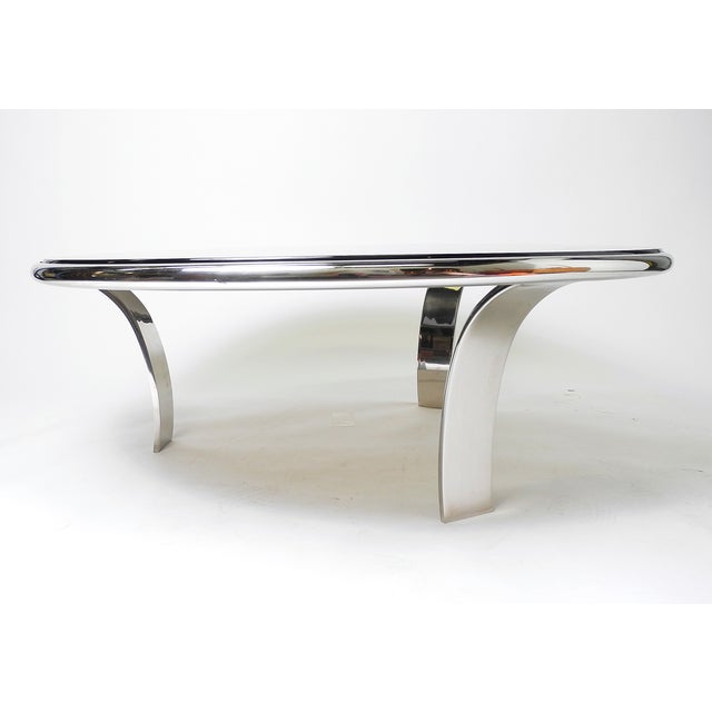 Gardner Leaver Smoked Glass Coffee Table - Image 4 of 7
