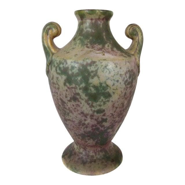 Vintage Burley-Winter Urn Style Vase With Handles - Image 1 of 8