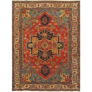 """Pasargad Serapi Wool Area Rug - 7'11"""" X 9'10"""""""
