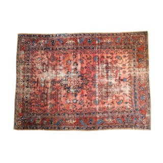 "Antique Fine Lilihan Carpet - 8'9"" x 11'9"""