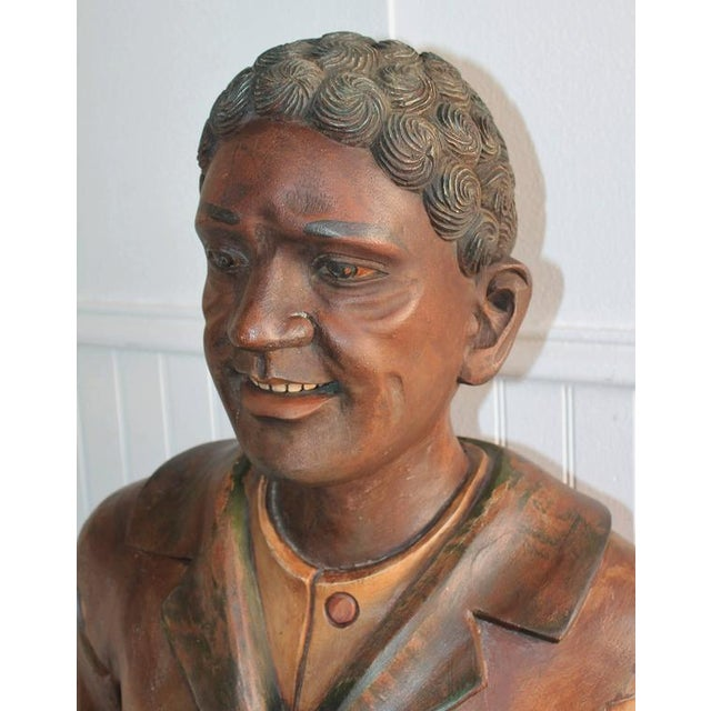 Hand-Carved and Painted 19th Century Cigar Store Figure - Image 4 of 10