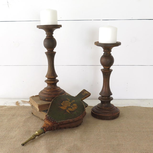 Antique Fireplace Bellows - Image 3 of 10