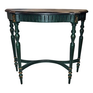 Louis XVI Style Painted Console