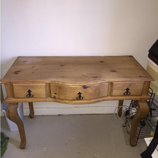 Image of Antique Pine Desk