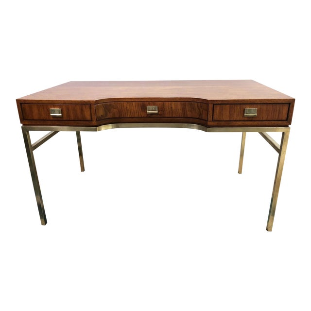 Drexel Consensus Campaign Writing Desk - Image 1 of 11