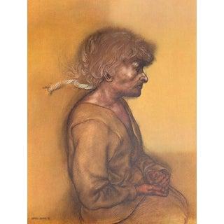 "Rafael Coronel ""Portrait Ii"" Offset Lithograph"