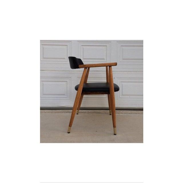 Mid-Century Modern Gunlocke Chair - Image 3 of 6