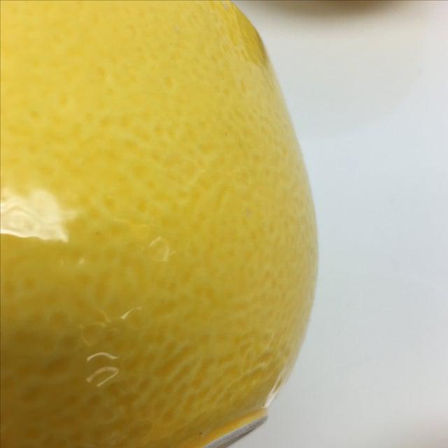 Vintage Yellow Grapefruit Bowls - Set of 4 - Image 10 of 10