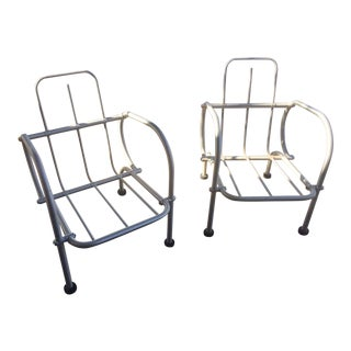 Warren McArthur for Arizona Biltmore Art Deco Armchairs - A Pair
