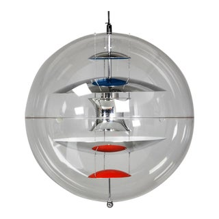 Large Spherical Suspension Lamp by Verner Panton for Louis Poulsen, 1969