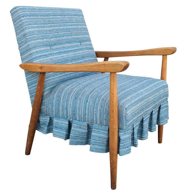 Mid Century Modern Danish Style Lounge Chair - Image 1 of 6