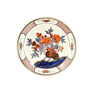Red & Blue Japanese Porcelain Bowl