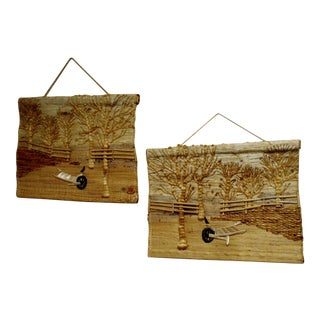 Don Freedman Natural Wall Art Decor - A Pair