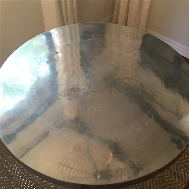 Vintage Silver Tulip Table - Image 6 of 6