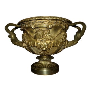 Antique Warwick Vase Model in Bronze