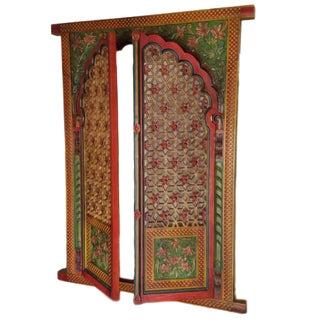Jharokha Hand-Carved Window Frame