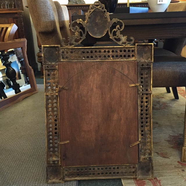 Gilded French Iron Mirrors - A Pair - Image 8 of 10