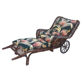 1930s Art Deco Chaise Lounge