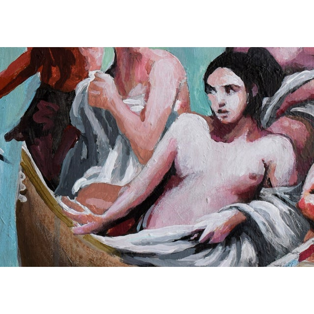 Oil Study for Myth of the Nubile Captives (Aka: Hey, That's Not Art!) - Image 4 of 8