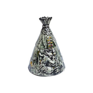 Art Deco McCoy Teepee Cookie Jar