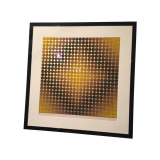 Vasarely Signed Lithograph