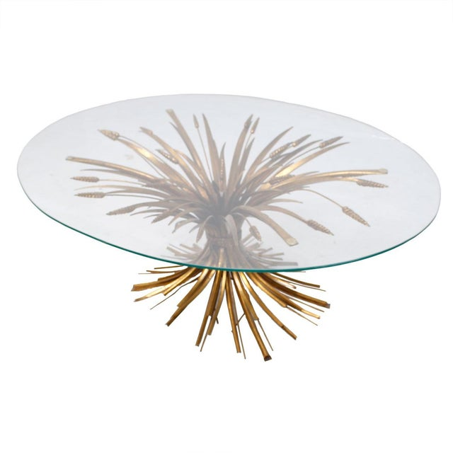 Image of Coco Chanel Style Sheaf Of Wheat Coffee Table