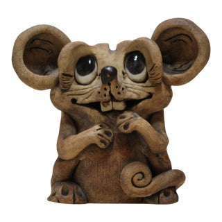 Max Hindt Creative Clay Mouse Figurine
