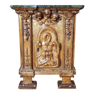 Continental Altar as Table or Cabinet