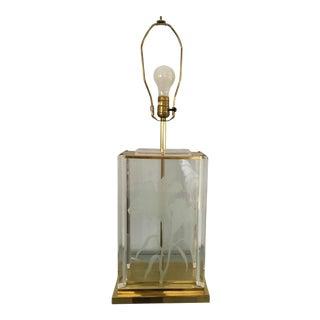Hollywood Regency Fredrick Ramond Table Lamp