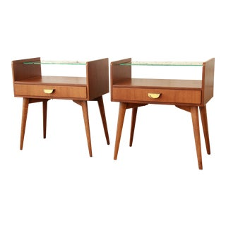 Helmut Magg for WK Möbel Nightstands - A Pair