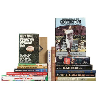Baseball Library - Set of 15