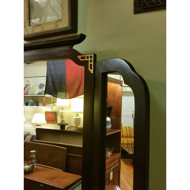 Bassett Chinoiserie Long Dresser With Mirror - Image 4 of 11