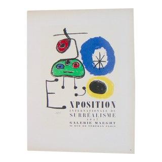 Miro Exhibition Poster