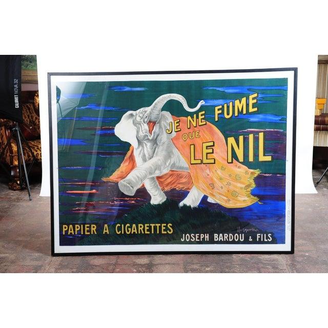 Je Ne Fume Que Le Nil-Original 20s Elephant Poster - Image 2 of 9