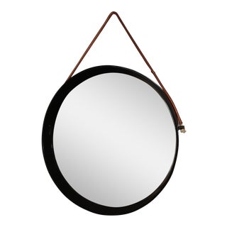 Mirror in the Style of Jacques Adnet