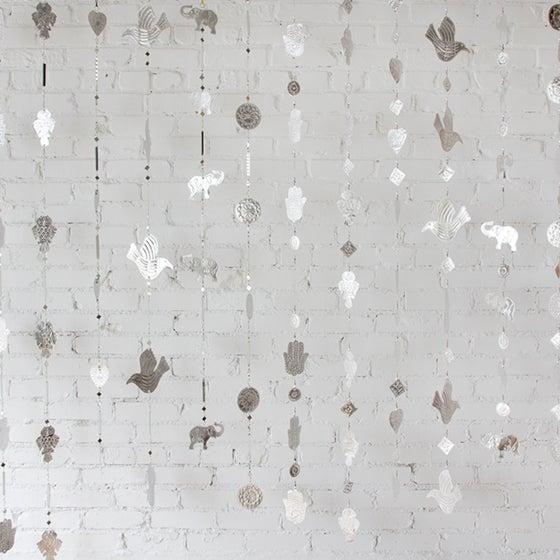 Hanging Mirrored Bird Aluminum Ornament - Image 3 of 3