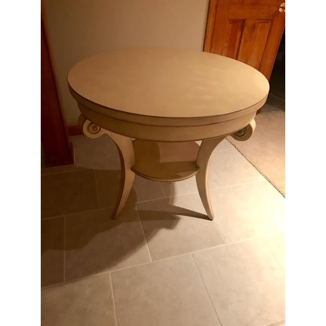 Transitional Round Accent Table - Image 3 of 6