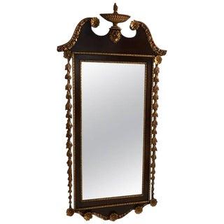 Giltwood Mahogany Mirror