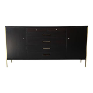 Paul McCobb for Calvin Ebonized Credenza
